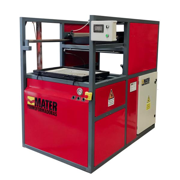 termoformadora para plastico semiautomatica